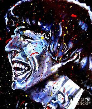 George Harrison Blue Pop by Misty Smith