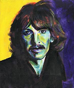 George Harrison by Charles  Bickel