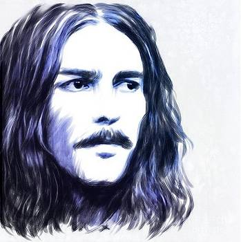 George Harrison Portrait by Wu Wei