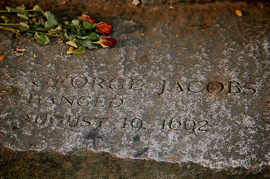 Sherlyn Morefield Gregg - George Jacobs Memorial