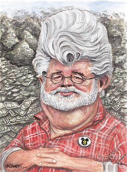 George Lucas by Mark Tavares