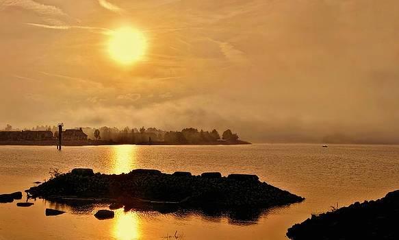 Jeff S PhotoArt - Georgian Bay Misty Sunset