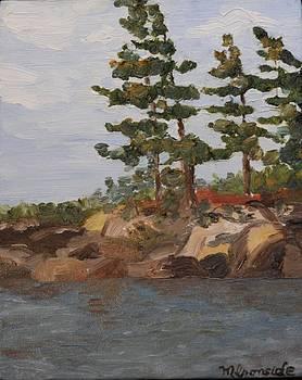 Georgian Bay Pines by Monica Ironside