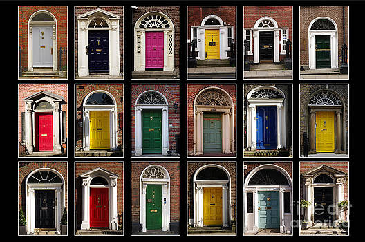 Georgian doors of Dublin by Giuseppe Ridino