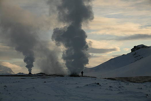 Geothermal Steam Vents  by Derek Sherwin