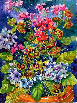 Geranium II by Ann  Nicholson