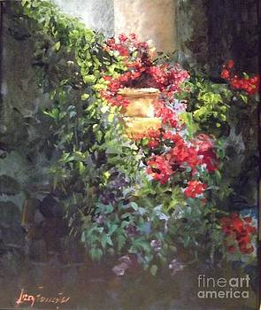 Geraniums I  by Lizzy Forrester