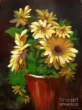 Gerber Daisies 3 by Carol Hart