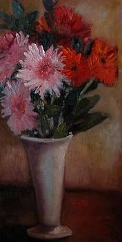Gerbera Daisies by Wendie Thompson