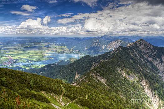 German Alps View I by Juergen Klust