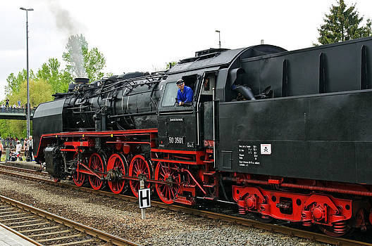 German Class 50 Steam loco by David Davies