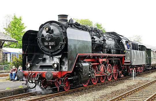 German class 50 Steam Locomotive by David Davies