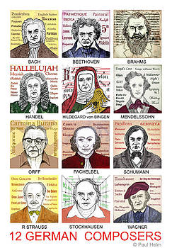 German composers by Paul Helm