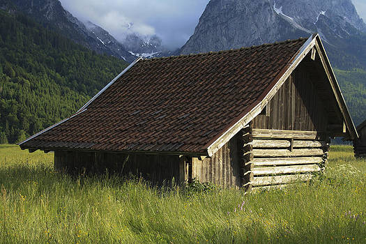 German Hay Shed by Cassandra NightThunder