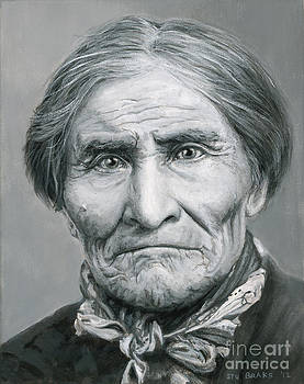 Geronimo c. 1904 by Stu Braks