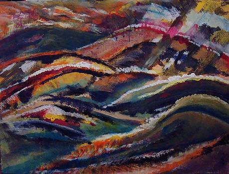 Gestural Landscape by Laura Evans