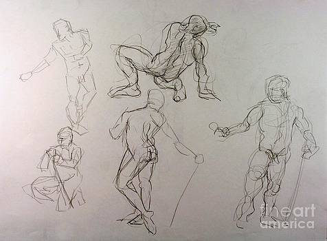 Gestures of a Man by Andy Gordon