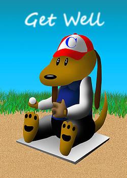 Jeanette K - Get Well Baseball Dog