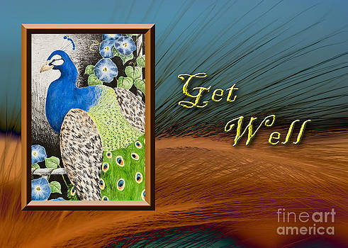 Jeanette K - Get Well Peacock