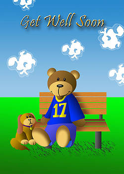 Jeanette K - Get Well Soon Bear and Dog