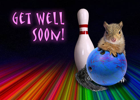 Jeanette K - Get Well Soon Squirrel