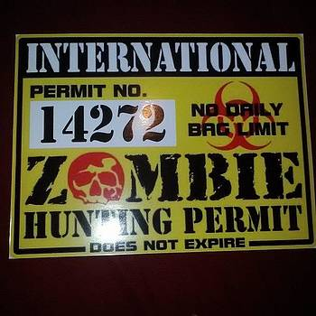 Get Your Large International Zombie by Jamie Schatten