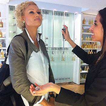 Getting Perfumed 😘❤️#guerlain by Alexis Johnson