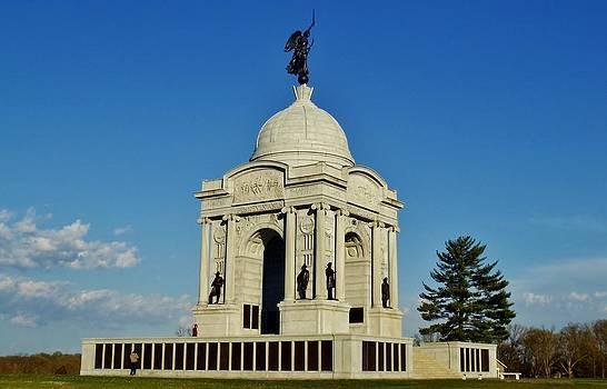 Gettysburg - Pennsylvania Memorial by Ed Sweeney