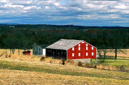 Bill Swartwout Fine Art Photography - Gettysburg Red Barn