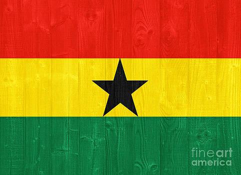 Ghana flag by Luis Alvarenga