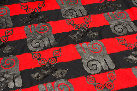 Michele Burgess - Ghana in Red and Black