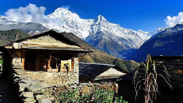 Ghandruk Village by Greg Holden