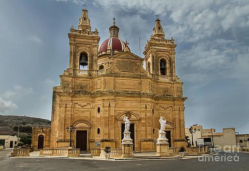 Ghasri Church Gozo Malta by Gabor Pozsgai