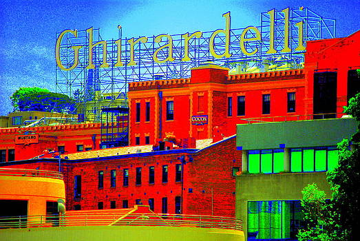 Ghirardelli Square by Mamie Gunning