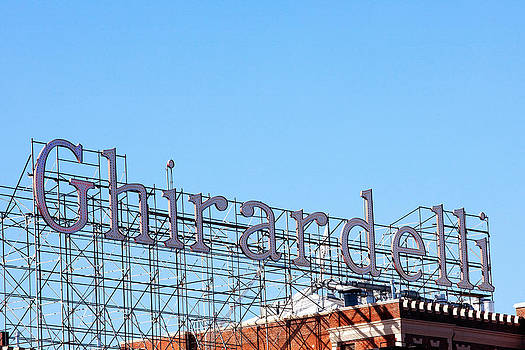 Art Block Collections - Ghirardelli Square Sign