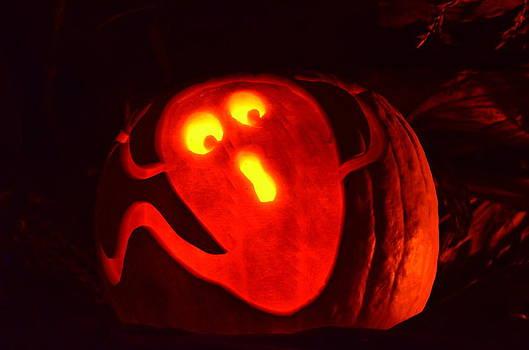 Linda Rae Cuthbertson - Ghost in Pumpkin