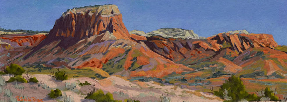Ghost Ranch Morning Vista by Patricia Rose Ford
