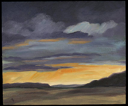 Ghost Ranch Sunset by Julia Grundmeier