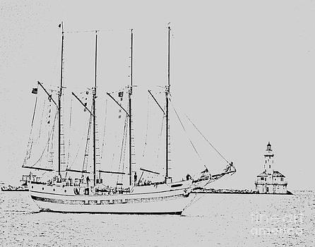 Ghost Ship by Fred L Gardner