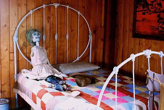 Ghost Town Bedroom by Larry Bodinson