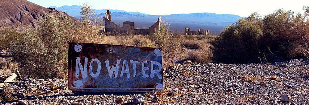 Ghost Town - No Water by Maria Arango Diener
