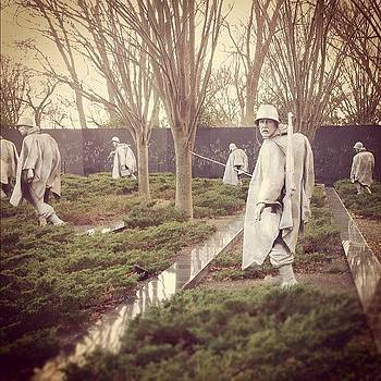 Ghostly, Korean War Memorial by Dean Sauls