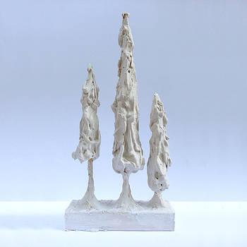 E Gibbons - Giacometti Style Christmas Tree