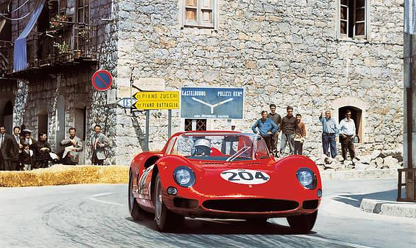 Giancarlo Baghetti - Ferrari 275 P - Targa Florio 1965 by Alberto Ponno