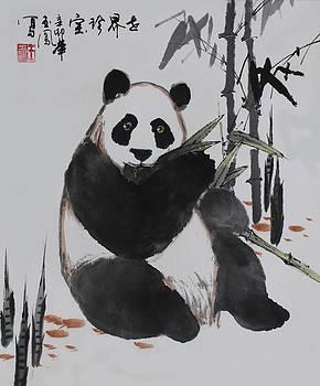 Giant Panda by Yufeng Wang