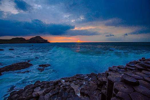 Giant's Causeway Sunset by DM Photography- Dan Mongosa