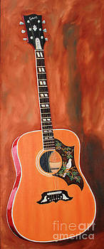 Gibson Dove Guitar by Todd Bandy