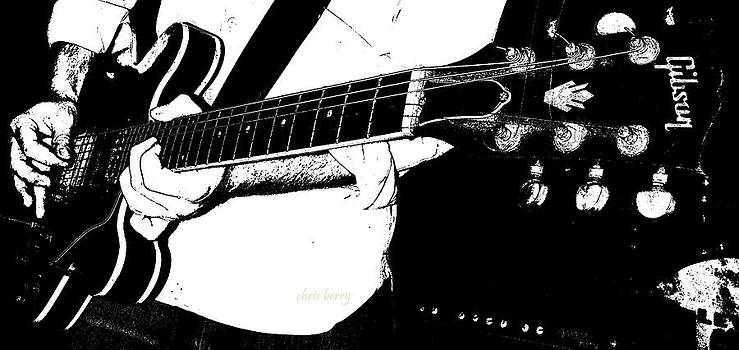 Chris Berry - Gibson Guitar Graphic