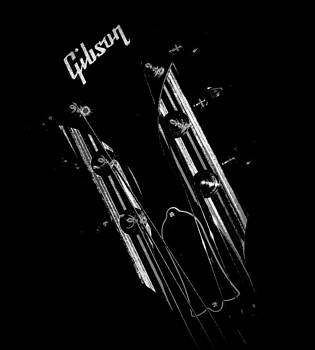 Rosemarie E Seppala - Gibson Les Paul Headstock