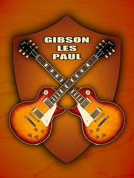 Gibson les paul standart  shield by Doron Mafdoos